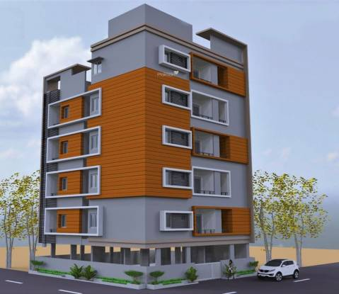 Home Green Apartment Elevation