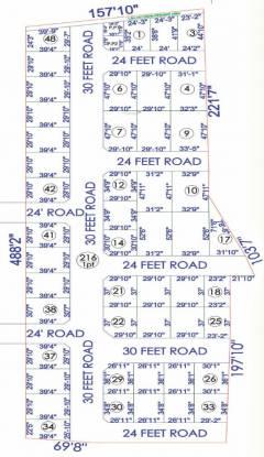 Pokkisham Nagar Layout Plan