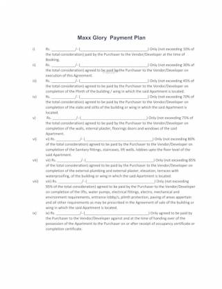 glory Construction Linked Payment (CLP)