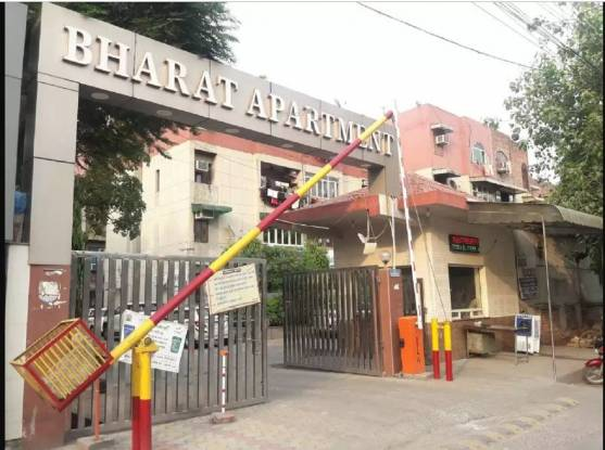 Reputed Bharat Apartments Elevation