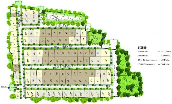 Taras Datri Bluejay Uttar Master Plan