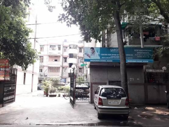 Anil Suri New Vindhyachal Apartment Elevation