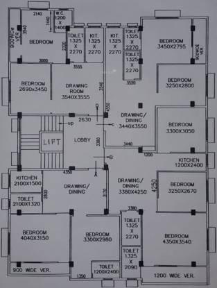 Maa Santoshi Shivaloy Apartment Cluster Plan