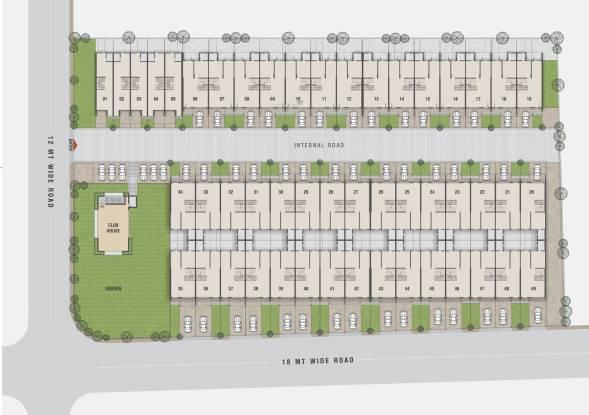 Teraiya Adhishthan Bungalow Layout Plan