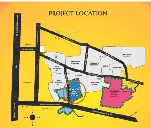 spaces Location Plan