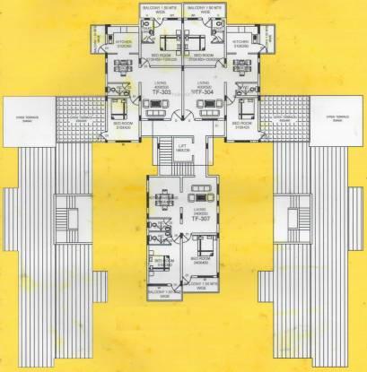 Cruz Silva Residency Cluster Plan