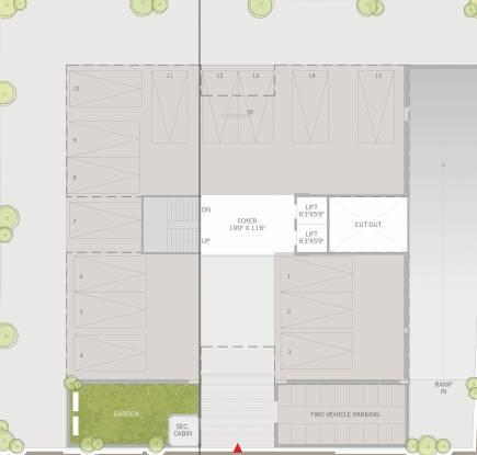 Excellon Suril Apartments Cluster Plan