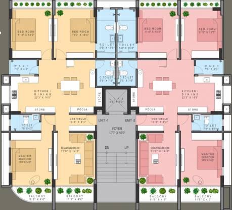 Om Aryaman Urbanville 1 Cluster Plan
