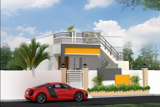 Guhan Pushyami Villas Elevation