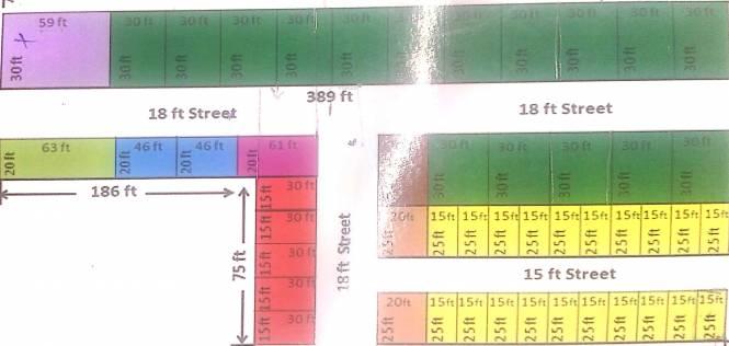 M K Green Enclave 2 Layout Plan