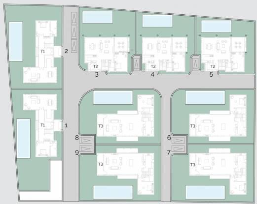 Vianaar LA Mosteiro Site Plan