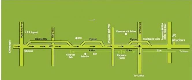 JR Meadows Phase 3 Location Plan