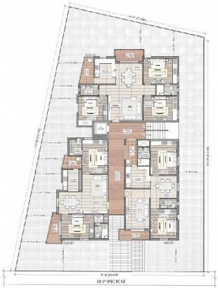 Nischal Shanti Nilaya Cluster Plan