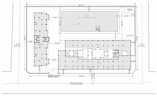 Prime Symphony Site Plan