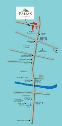 palms-phase-1 Location Plan