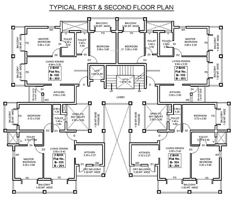 B and F Woods Cluster Plan