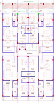 Bharat Ansal Esencia Floors Cluster Plan