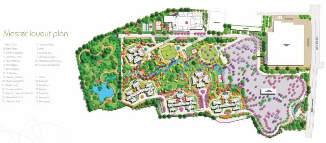 Shapoorji Pallonji Parkwest Emerald Tower 2 Master Plan