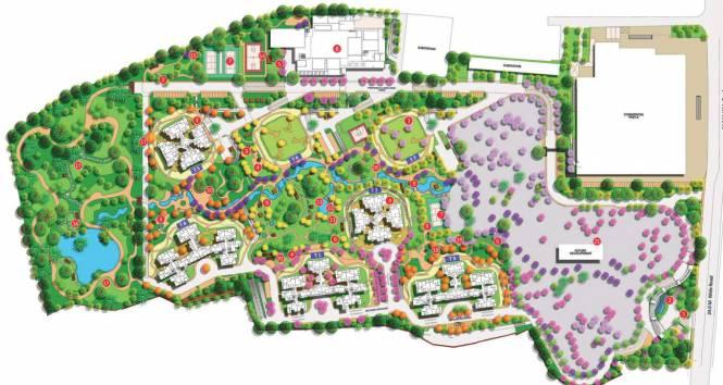 Shapoorji Pallonji Parkwest Sapphire Tower 5 Layout Plan