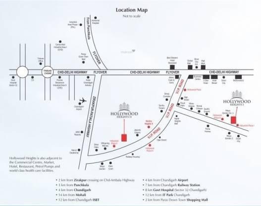 hollywood-heights-ii Location Plan