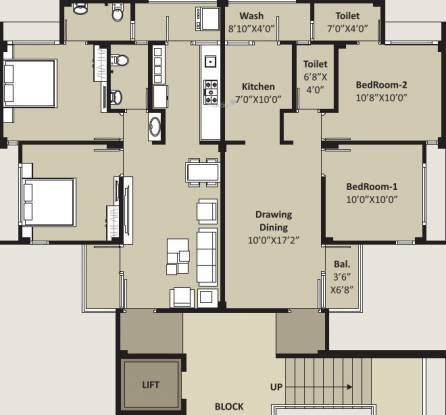 Shree Prerana Padmavati Residency Cluster Plan