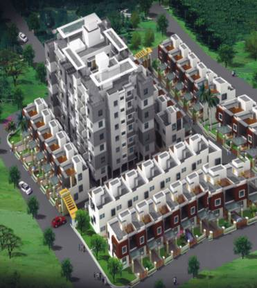 S R Karveer Nivasini Residency  Elevation