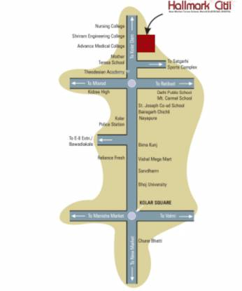 hallmark-city-phase-i Location Plan