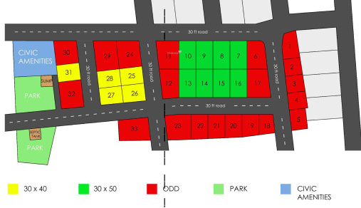Upendra A Reddy HMR Garden City Phase 4 Layout Plan