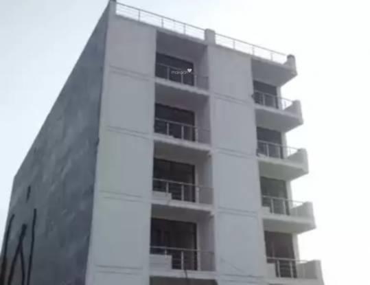 Om Builders And Promotors Neelkanth Apartment Elevation