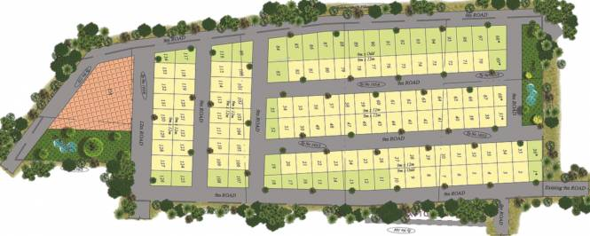 Adithya Haven Phase 1 Layout Plan