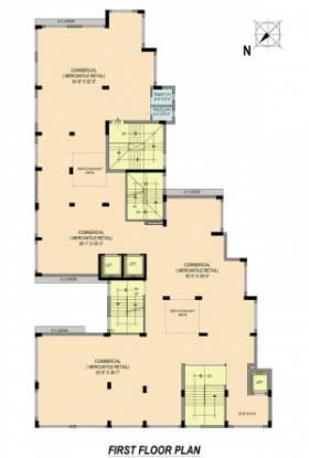 4sight-vivante Cluster Plan for 1st Floor