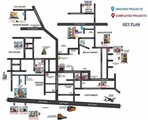 sai-enclave Location Plan