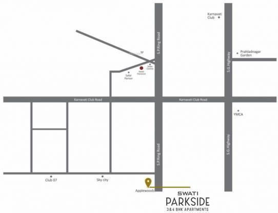 parkside Location Plan