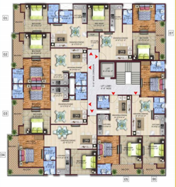 twin-county Tower 1 Cluster Plan