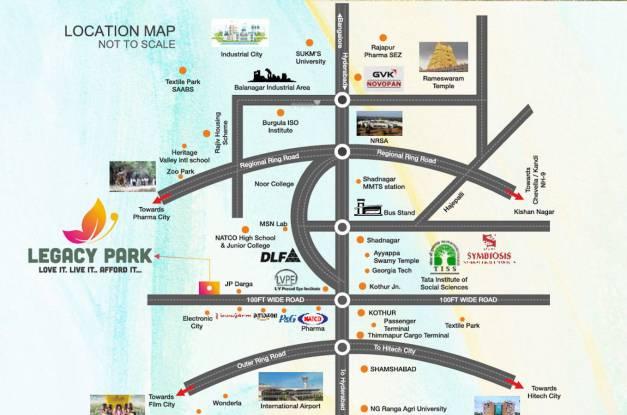 legacy-park Location Plan