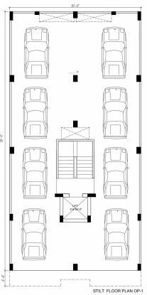 homes Krishna Homes Cluster Plan for Stilt Floor