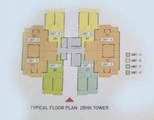 midtown Dummy Tower Cluster Plan
