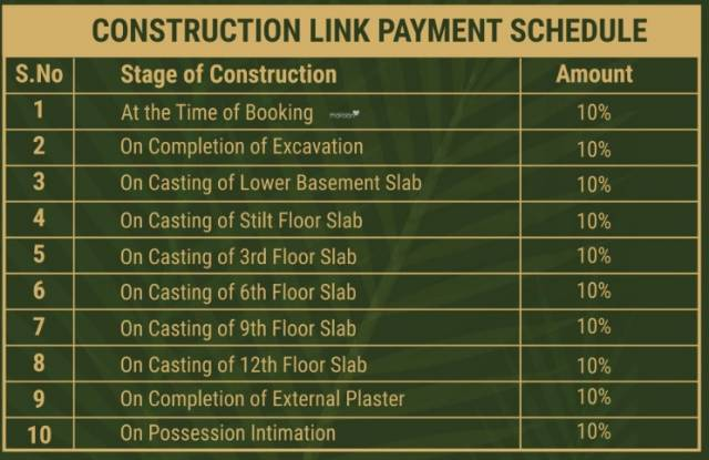 the-palm Construction Linked Payment (CLP)