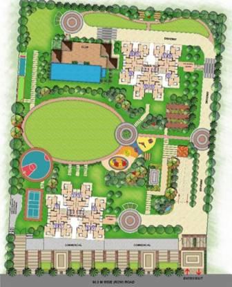 divya-towers Layout Plan