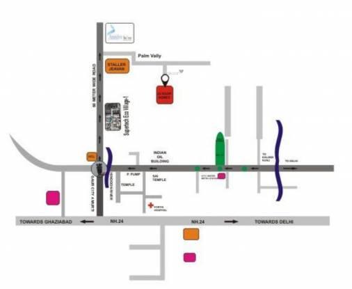 j-s-roop-homes Location Plan