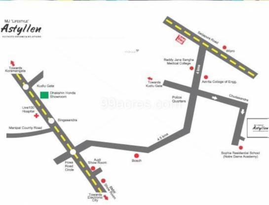 astyllen Location Plan