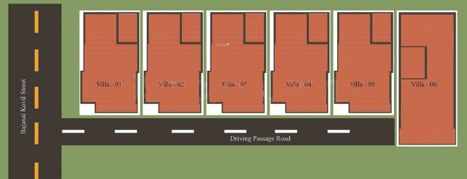 temple-villas Master Plan
