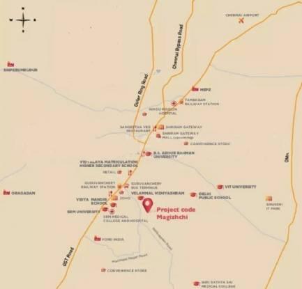 magizhchi Location Plan