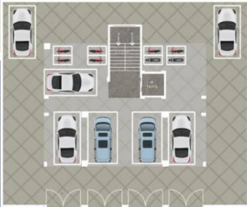 shiwani-paradise Shiwani Paradise Cluster Plan for ground Floor
