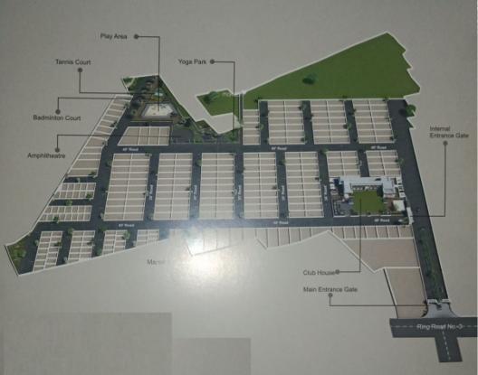 rosebey-greens Site Plan