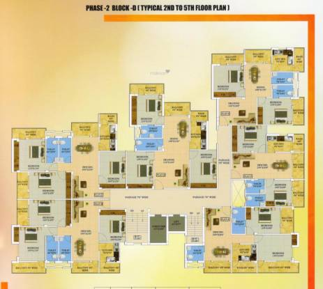 sri-ram-enclave Cluster Plan