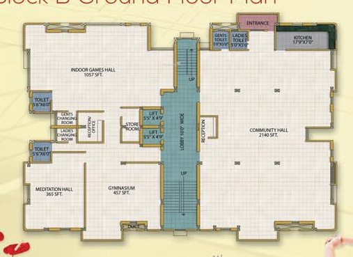 ishan-heritage Cluster Plan for ground Floor