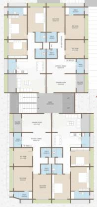 vihardham Vihardham Cluster Plan from 1st to 7th Floor