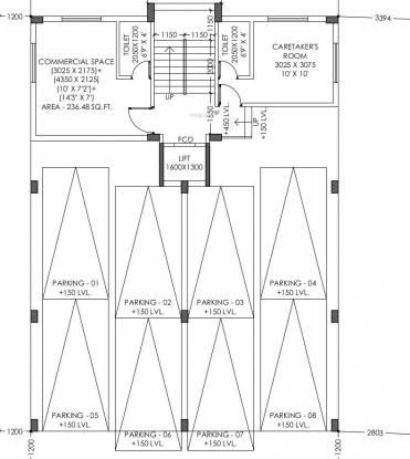 suryaprabha-co-operative-housing-society Suryaprabha Co Operative Housing Society Cluster Plan For Ground Floor