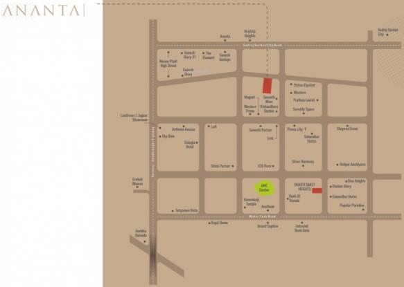 ananta Location Plan